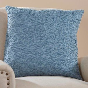 Signature Homestyles Nubby Pillow Cover - Blue